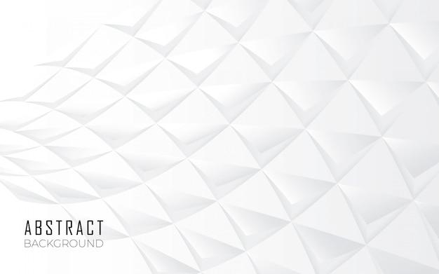 Абстрактный фон фигуры в белом Бесплатные векторы