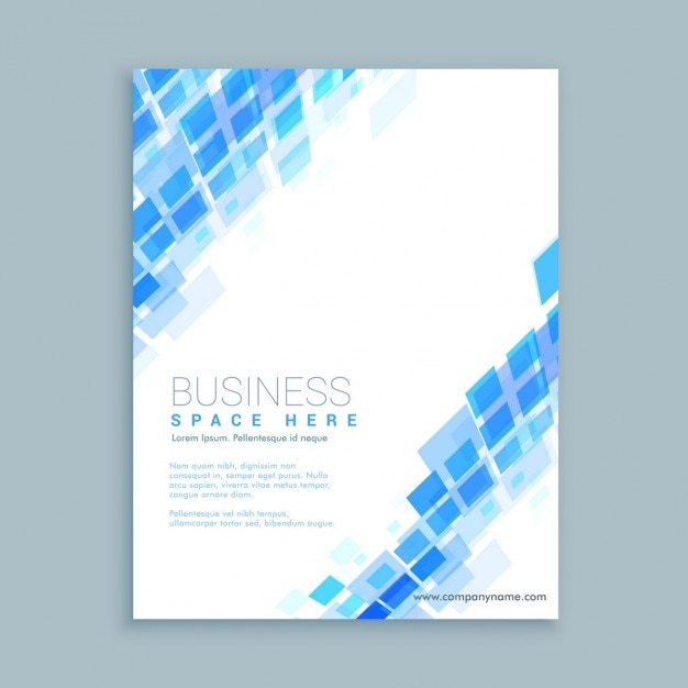 Abstract Shapes Business Flyer Template Vector  Free Download