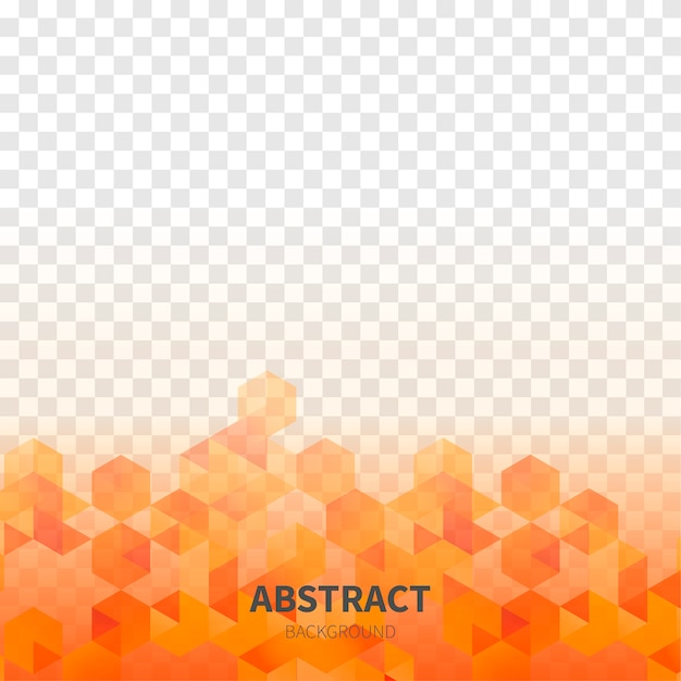 Abstract shapes with transparent background Free Vector