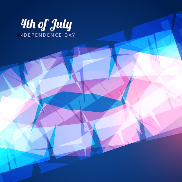 Abstract shiny design for independence\ day