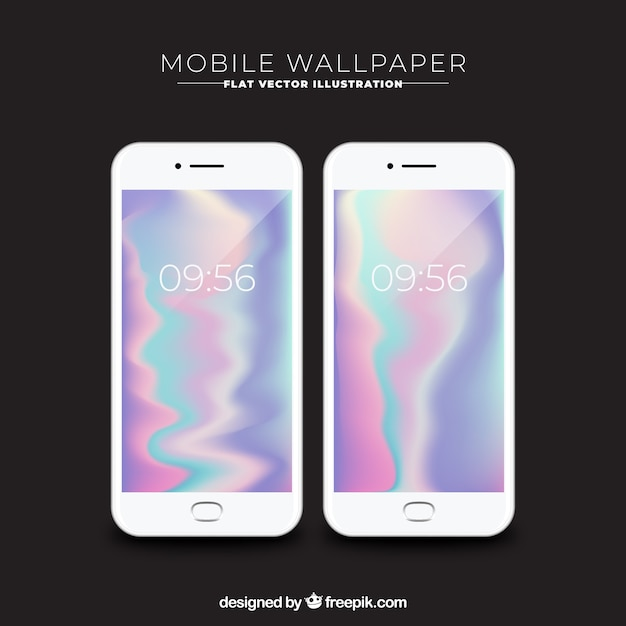 Abstract shiny wallpapers for mobile