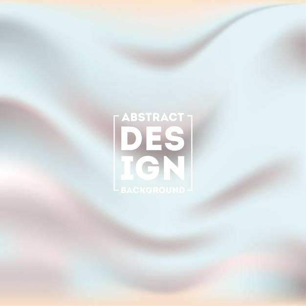 Abstract silky blurred gradient mesh background vector Premium Vector