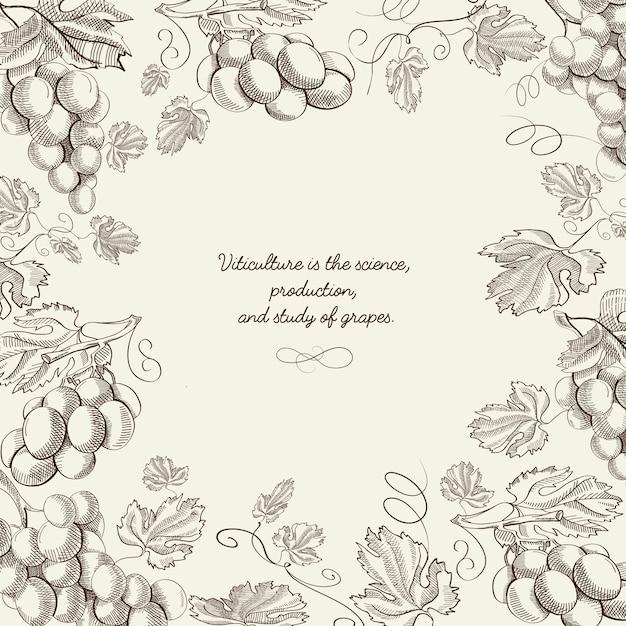 Абстрактный рисунок натуральные ягоды шаблон Бесплатные векторы