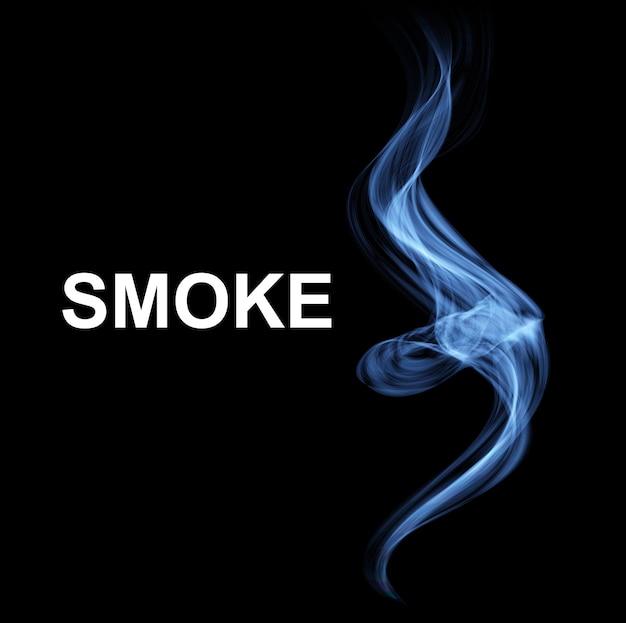 抽象的な煙の背景 Premiumベクター