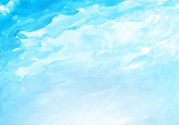 Struttura dell'acquerello blu morbida astratta Vettore gratuito