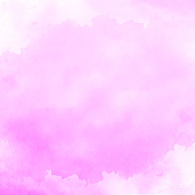 Abstract soft pink watercolor background Free Vector