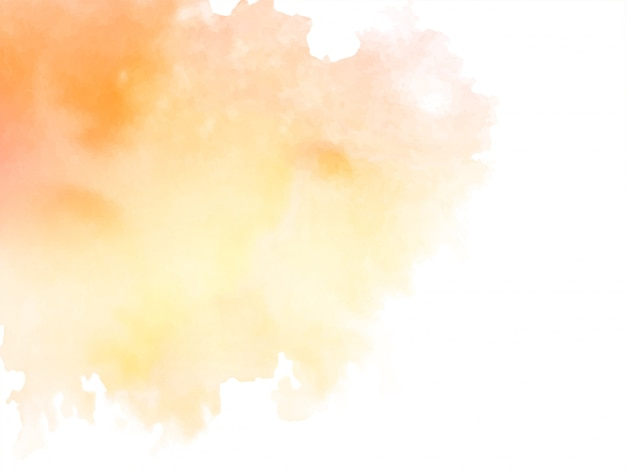 Abstract soft watercolor background Free Vector