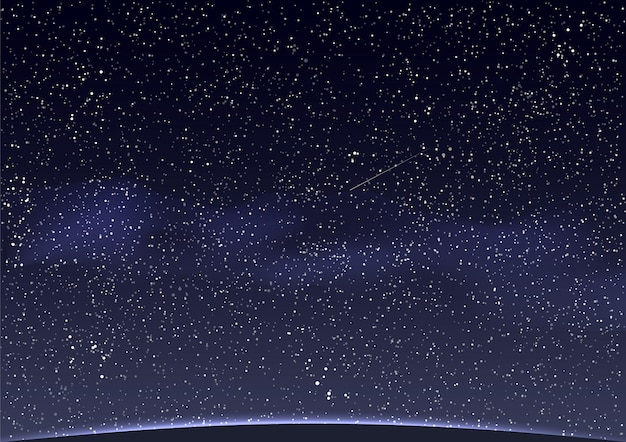 Abstract space background Premium Vector