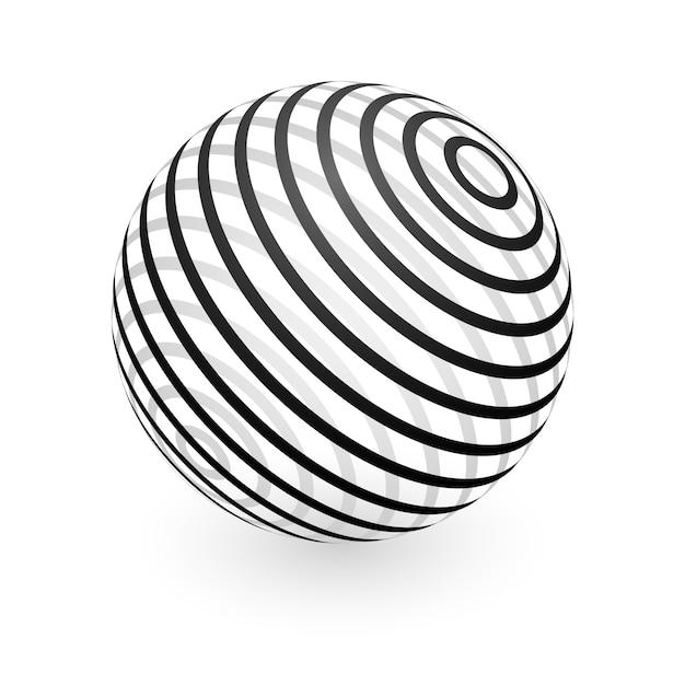 抽象球要素 Premiumベクター