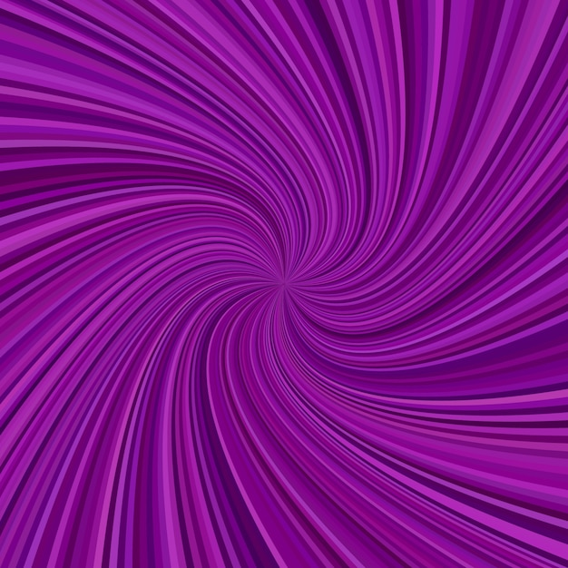 Abstract spiral ray background - vector graphic design from swirling rays Free Vector
