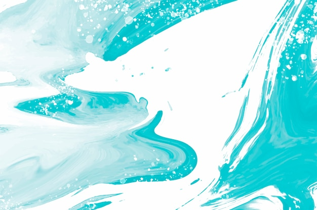 Abstract splashed watercolor textured background Free Vector