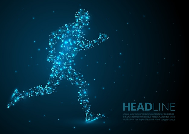 Abstract Sport Background Vector Free Download