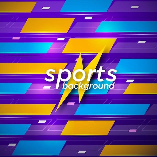 Abstract sports vector background Premium Vector