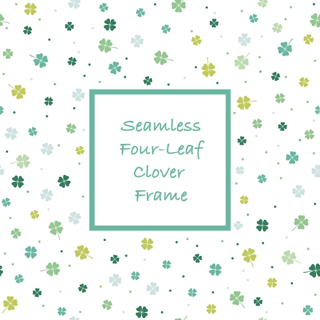 Abstract springtime square and frame illustration Free Vector