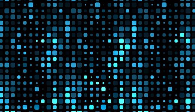 Абстрактный квадратный образец формы Бесплатные векторы