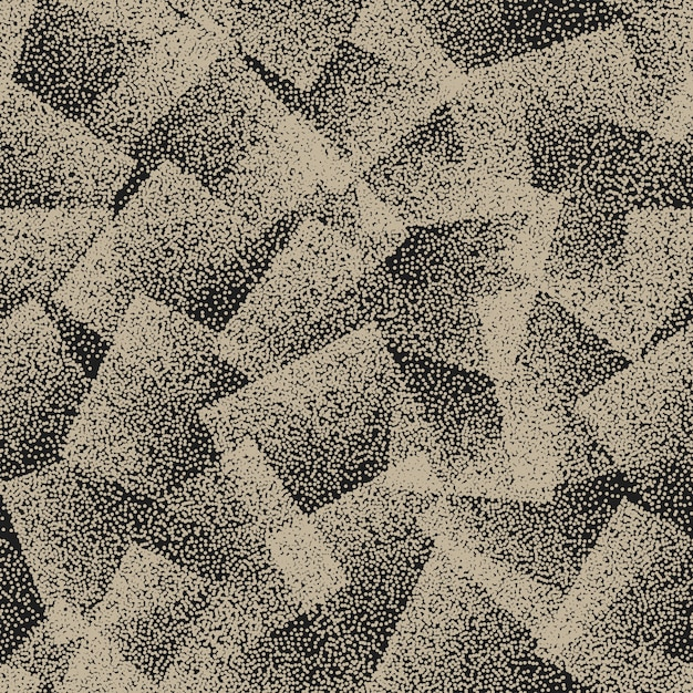 Abstract stippled seamless pattern background Premium Vector
