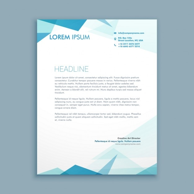 Abstract style letterhead vector free download abstract style letterhead free vector spiritdancerdesigns Image collections