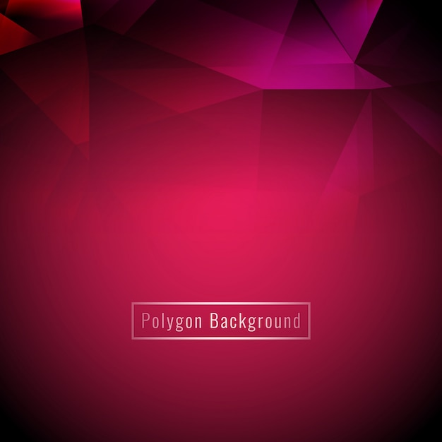 Abstract stylish colorful geometric polygon background Free Vector