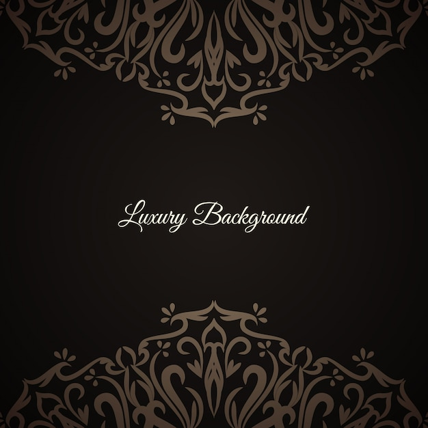 Abstract stylish luxury background Free Vector