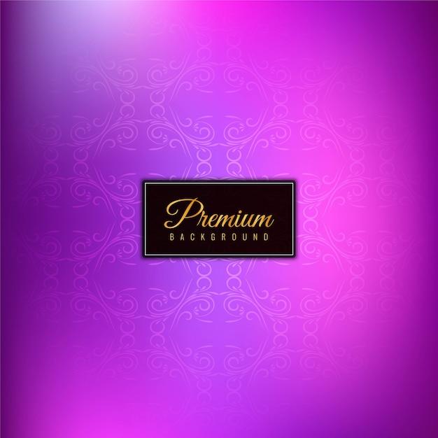 Abstract stylish premium purple background Free Vector