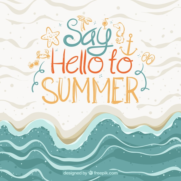 Abstract Summer Background Royalty-Free Stock Image ...