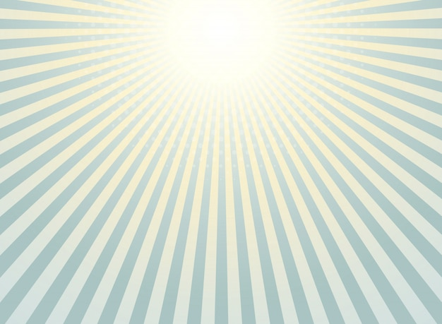 Abstract sunburst background Premium Vector