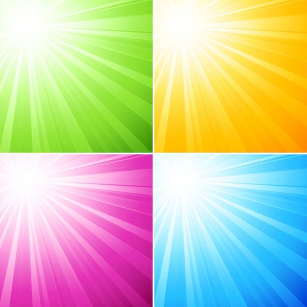 Abstract  sunny light background Premium Vector