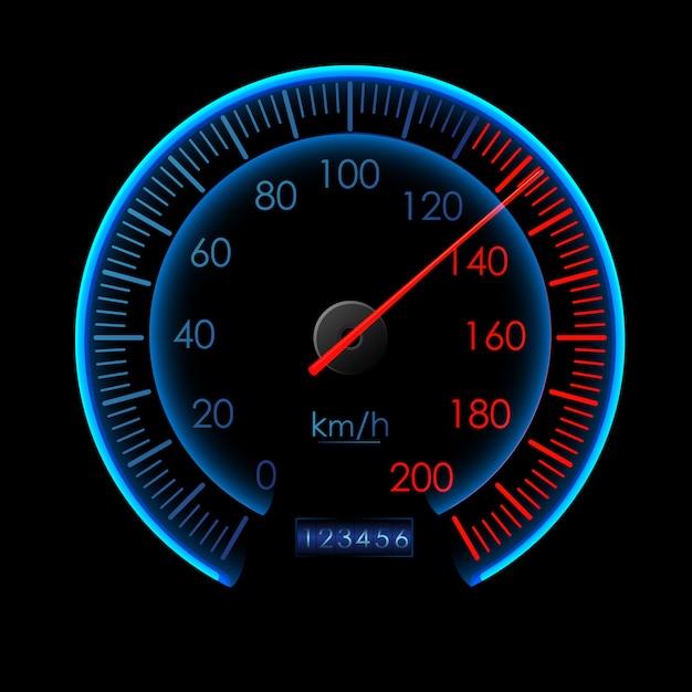 Abstract symbol of speed logo design Premium Vector
