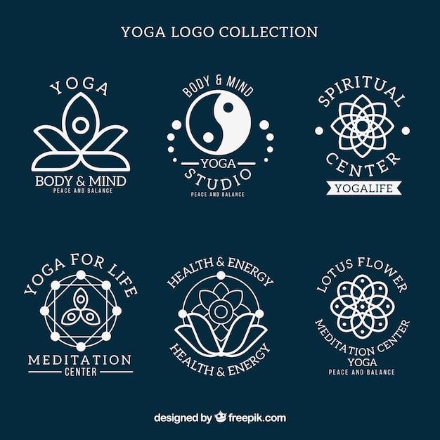 Abstract Symbol Yoga Logos Vector Premium Download