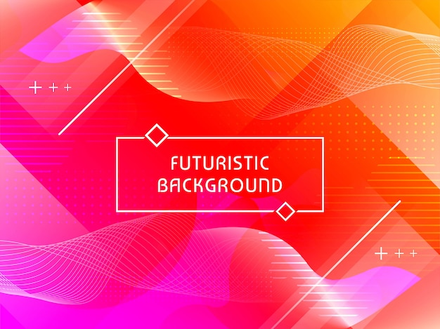 Abstract technological futuristic background Free Vector
