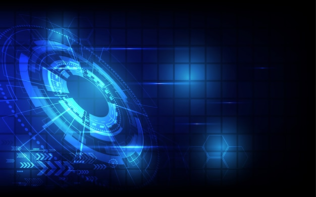 Abstract technology background hi-tech communication ...