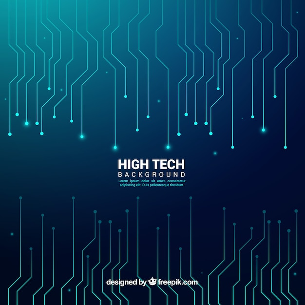 Abstract technology background  Free Vector