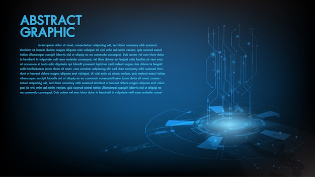 Abstract technology background Premium Vector
