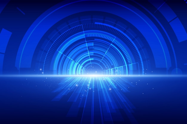 Abstract technology speed background Premium Vector