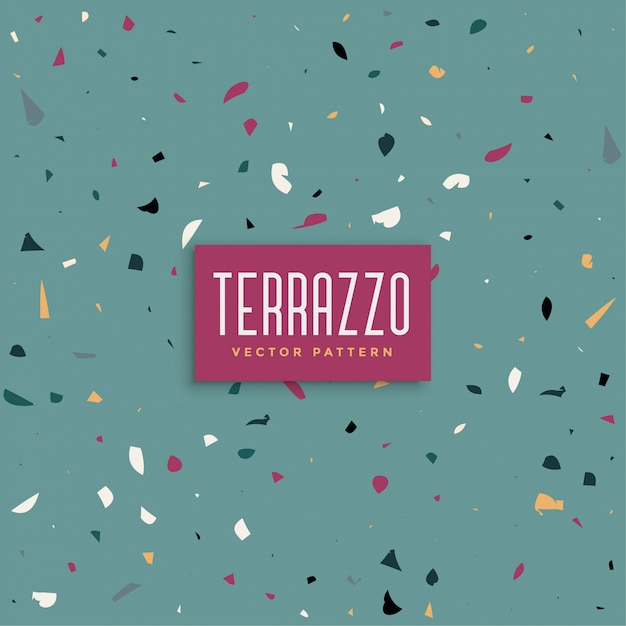 Abstract terrazzo texture background\ background