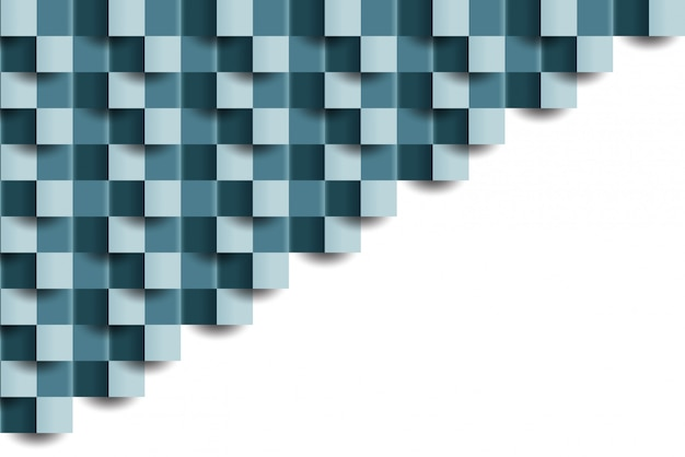 Abstract tiled geometric texture background Premium Vector