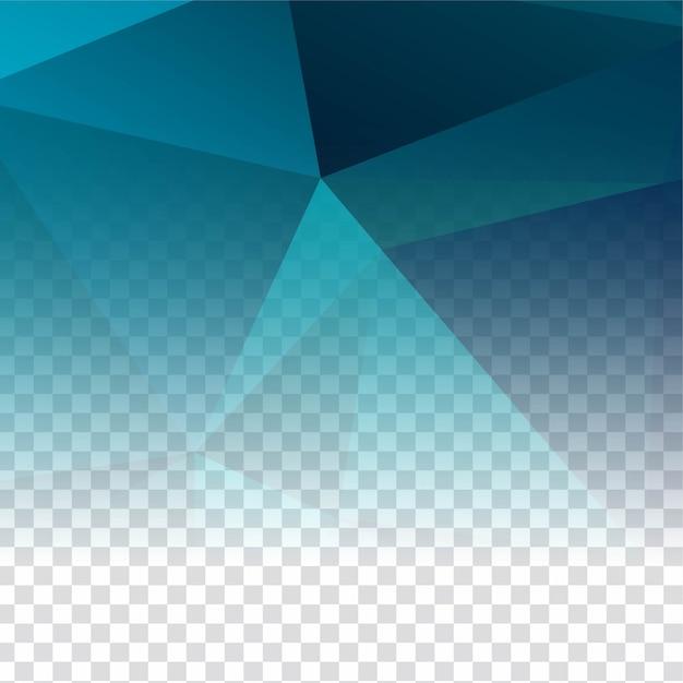 Абстрактный прозрачный многоугольной современный фон Бесплатные векторы