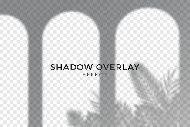 Abstract transparent shadows overlay effect Free Vector