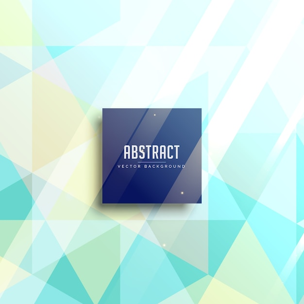 Abstract triangle background in pastel\ colors