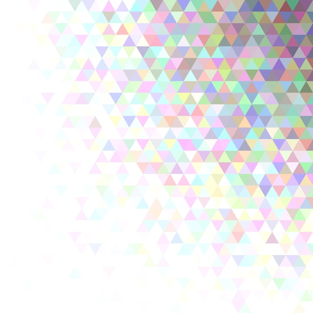 Abstract triangle pattern background Free Vector