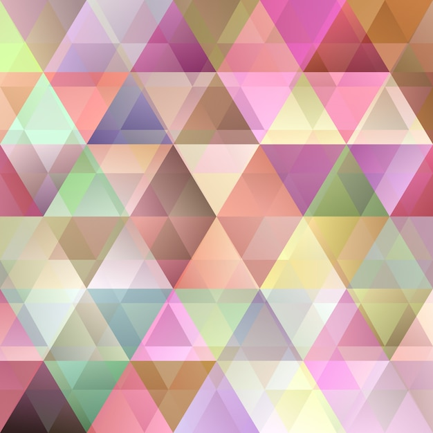 Abstract triangle pattern background Premium Vector