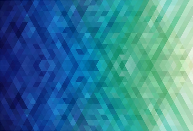 Abstract triangle pattern colorful background Free Vector