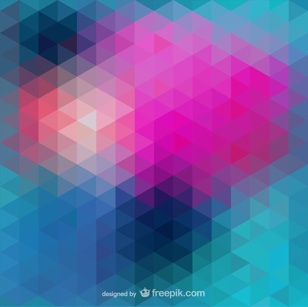 Abstract triangle Free Vector