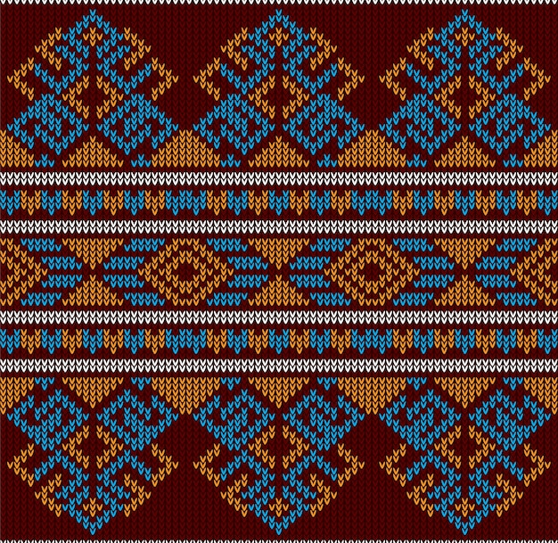 Abstract tribal aztec seamless pattern Premium Vector