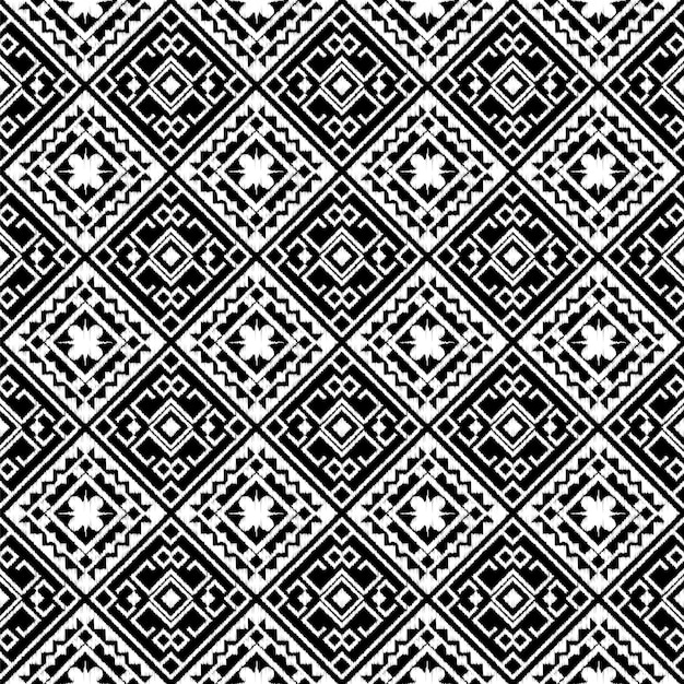 Abstract tribal aztec seamless pattern. Premium Vector