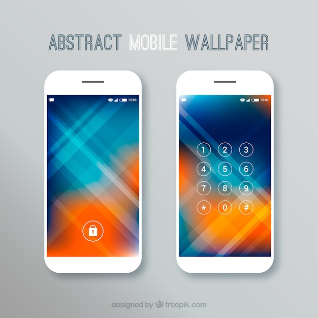 Abstract Unfocused Mobile Wallpapers