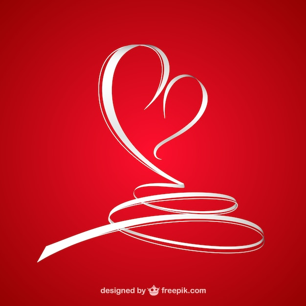abstract valentines heart free vector - Pictures Of Valentines Hearts