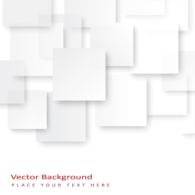 Abstract vector squares background. Free Vector
