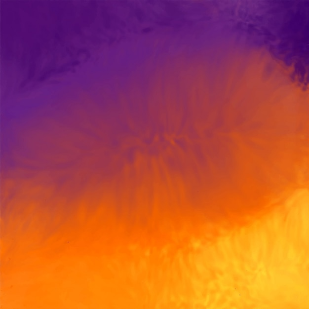 Abstract vibrant watercolor background texture Free Vector