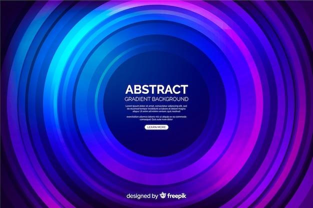 Абстрактная виниловая форма разноцветных кругов Бесплатные векторы